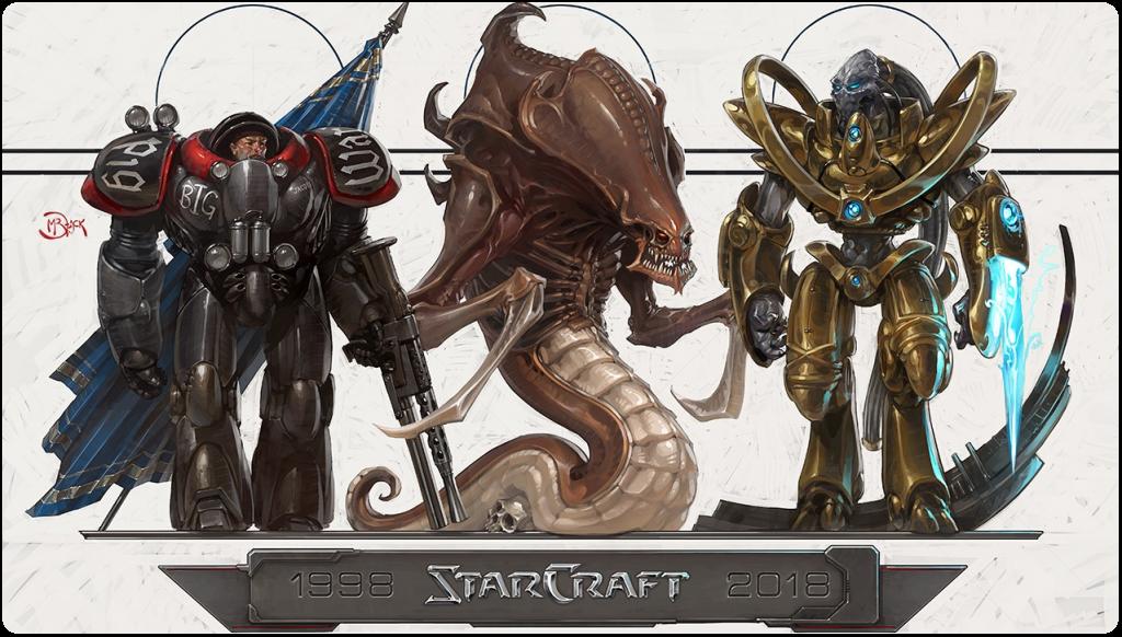 Alles Gute zum 20-jährigen Geburtstag, StarCraft!